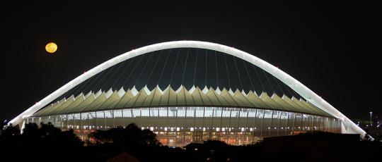 Moses Mabhida Stadium Roofing SHEERFILL Architectural Membrane