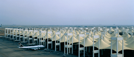 """Hajj-Terminal-Using-SHEERFILL-Architectural-Membrane"""